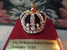 MINIATURE ~THE HOHENZOLLERN CROWN, GERMANY 1888 ~ #61046
