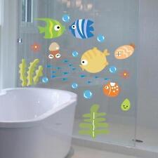 Cartone adesivi da parete affisso ai pesci impermeabile bambini camera letto GP