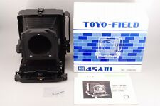 【RARE UNUSED in BOX】 TOYO FIELD 45A II L 4x5 Large Format Camer From Japan #1463