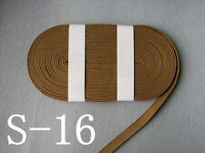10 M TOP GRADE DARK SANDY COLOR SILK TSUKA ITO - JAPANESE KATANA WAKIZASHI SWORD