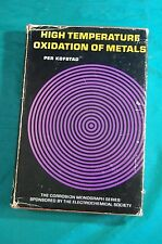 High Temperature Oxidation of Metals Per Kofstad John Wiley & Sons 1966