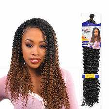 UK: Black Freetress WATER WAVE Bulk, SHAKE N GO (Braid, Crochet or PicK& Drop)