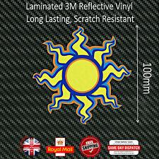 Valentino Rossi 46 Sol Laminado Reflectantes 3m calcomanías Sticker 100mm n047