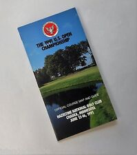 U.S. Open 1991 Championship Golf Course Map and Guide Chaska Minnesota MN
