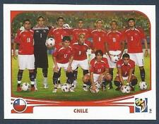 PANINI-SOUTH AFRICA 2010 WORLD CUP- #619-CHILE TEAM PHOTO