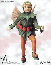 Cicely Mary Barker Flower Fairies - HOLLY - Flower Fairy Ornament - Collectible