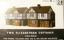 SQ28   SUPERQUICK  TWO ELIZABETHAN COTTAGES   B28  KIT