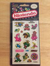 Rare Vintage Mello Smello Nintendo Mario, Luigi,Peach, Link 1989 Body Stickers