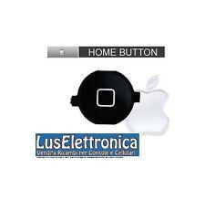 TASTO PULSANTE CENTRALE HOME NERO PER IPHONE 3G 3GS BOTTONE DI PLASTICA RICAMBI