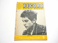 Record Song Book Magazine 1-7-1965 No 21 ? Bob Dylan on cover