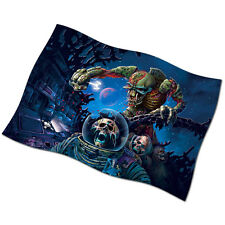 "Iron Maiden FLAG BANNER 28"" NEW Speed of Light Fear of the Dark The Trooper"