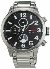 Tommy Hilfiger Casual Sport Stainless Steel Chronograph Mens Watch 1791243