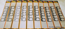 Mr Gasket  #5926 Exh Gaskets, SB2., Splayed Valve,  Bundle of 10 Gasket Sets
