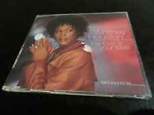 CD SINGLE - WHITNEY HOUSTON - MY LOVE IS YOUR LOVE