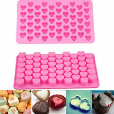 CY Silicone 55 Heart Cake Chocolate Cookies Baking Mould DIY Ice Cube Mold Tray