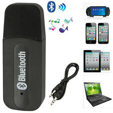 3.5mm Dongle A2DP Wireless USB Bluetooth Music Audio Receiver Adapter Home Car