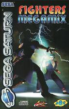 ## Fighters Megamix (mit OVP) - SEGA SATURN Spiel - TOP ##