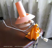 Wool Winder Yarn/Fiber/String Ball Winder-Brother Singer Machine & Hand Knitting
