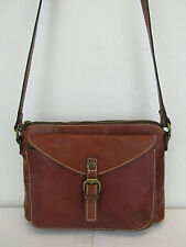 PATRICIA NASH New Tan Leather Avellino Crossbody Bag  MSRP $119 #CHN 61