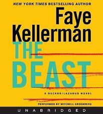 THE BEAST BY FAYE KELLERMAN - GREAT AUDIO BOOK WITH FREE SHIPPING