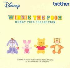 "BROTHER Ricamo CARD Ped, Winnie the Pooh ""Miele toys collezione"" BRAND NEW"