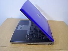 *BLUE* Dell D520 Fast 80GB Intel Core 2 Duo Wireless Laptop Windows 10 Office