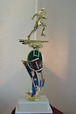 "13"" Sport Riser Football Trophy Free Engraving"