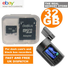 32GB TF Flash Micro SD SDHC Class10 Memory Card for dash cam mini 0803 0805 0806