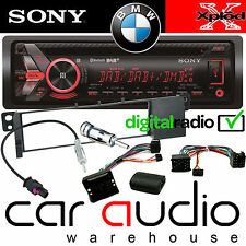 BMW E46 3 Coupe Sony DAB Bluetooth CD MP3 USB Car Stereo & Steering Wheel Kit