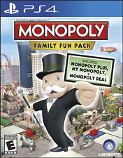 Monopoly Family Fun Pack PS4 Game Brand New & Sealed