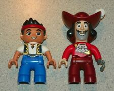 LEGO - Duplo Figure - Never Land Pirates, Captain Hook & Jake