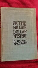The Million Dollar Mystery by Harold Macgrath 1915 HC 1st Edition Photoplay