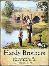 Hardy Brothers Fishing small steel sign 200mm x 150mm (og)