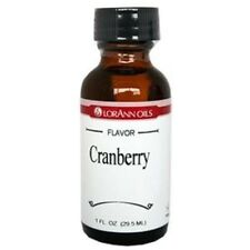 LorAnn Hard Candy Flavoring Oil CRANBERRY FLAVOR 1 oz.