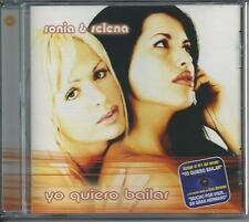SONIA & SELENA - Yo quiero bailar Cd Album 12TR Spanish Europop 2001 (VALE)