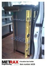 4 Bar / Pole / Level holder.Van Truck Racking Trafic T5 Transit Vivaro Sprinter