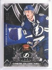 12-13 Crown Royale Lords Of The NHL Steven Stamkos 2clr patch #D06/10 *55252