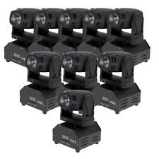10X RGBW 14CH LED Moving Head Light DJ Disco DMX512 Club Show Stage Lighting