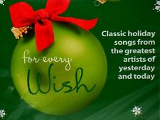 FOR EVERY WISH CD, NEW! CHRISTMAS,FRANK SINATRA,JOHNNY CASH,ANDY WILLIAMS,ELVIS