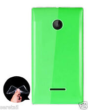 Ultra Thin Transparent Soft Silicone Back Case Cover For Microsoft Lumia 532