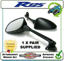 NEW AFTERMARKET MIRRORS MIRROR SET PAIR TO FIT THE YAMAHA YZFR125 YZF-R125 08