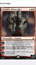 Chandra, Flamecaller Promo MTG NM-MT Zombie SDCC 2016 FOIL Walking Dead