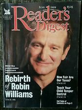 Readers Digest Rebirth Of Robin Williams June 1999 Out Of Print Back Issue Rare!