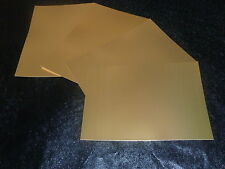 20 SHEETS - ANTIQUE GOLD MIRROR A4 CARD 285 GSM
