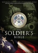 HCSB Soldier's Bible, Simulated Leather (Green)