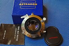NEW VIEW CAMERA ASTRAGON 105mm F4.5 MEDIUM LARGE FORMAT LENS SEIKO SHUTTER