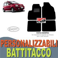 PER FIAT PANDA (03-12) TAPPETINI AUTO SU MISURA IN MOQUETTE CON BATTITACCO EASY