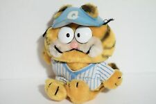 Garfield Vintage Plush Toy Doll in Baseball shirt 1981