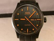 "MIDO ""MULTIFORT"" black AUTOMATIC mens WATCH   SPECIAL EDITION  42mm BLACK"