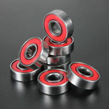 Set 8 Sealed Ball Bearings Roller Skateboard Rollerskates Skates  8x22x7mm